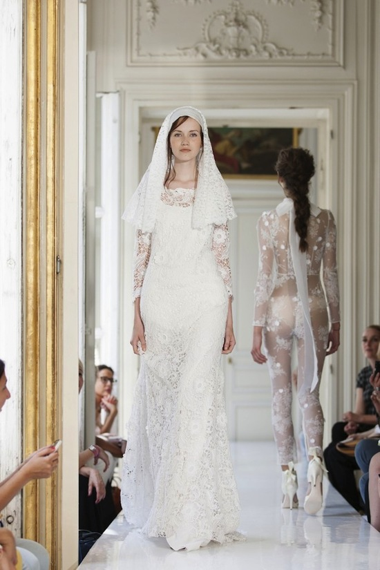 2013 Wedding Dress by Delphine Manivet French Bridal Anasthase