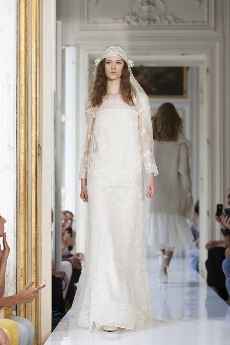 2013 Wedding Dress by Delphine Manivet French Bridal Hiliare