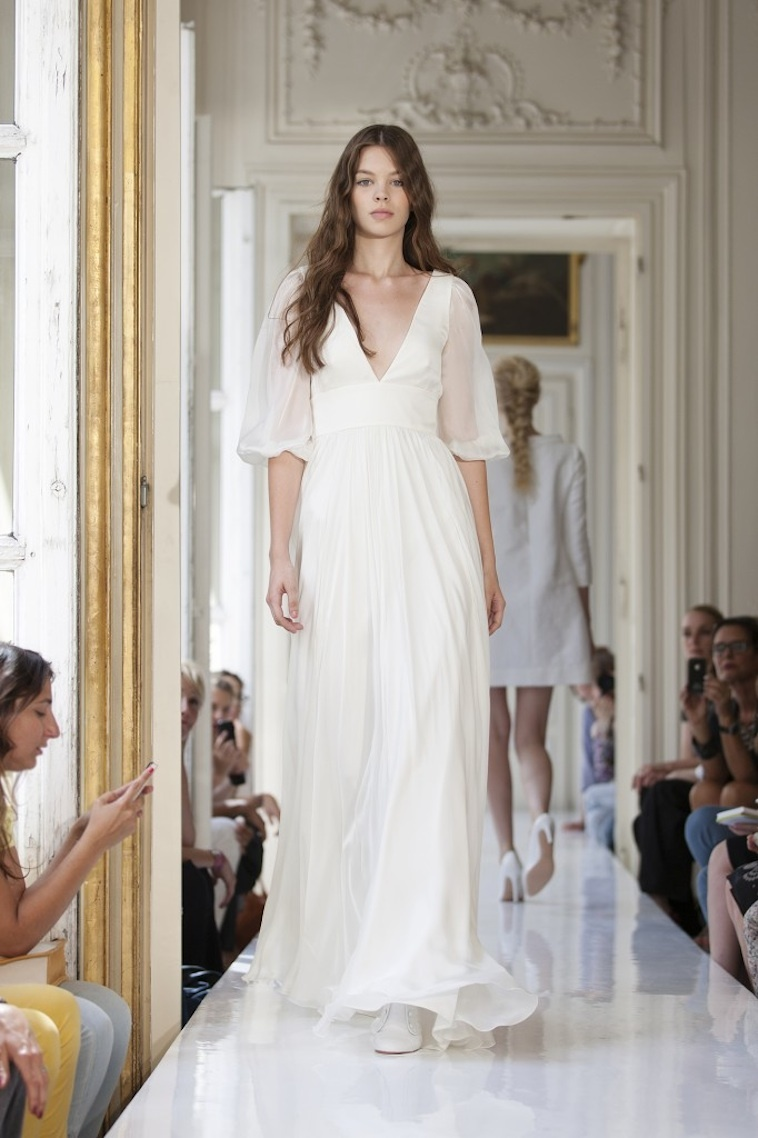 wedding dressdelphine manivet french bridal sanson