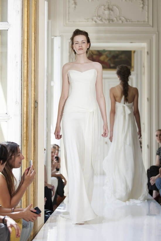 2013 Wedding Dress by Delphine Manivet French Bridal Archibald