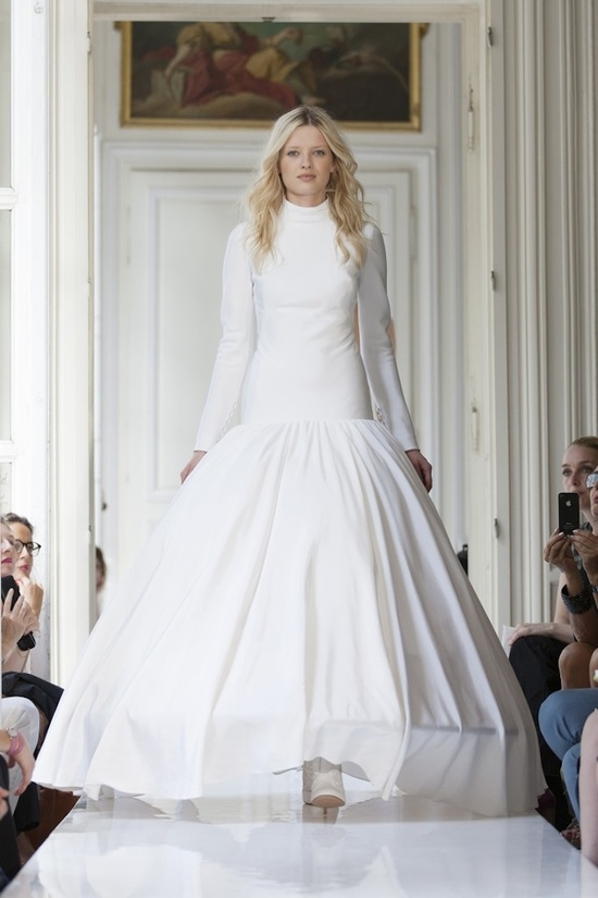 2013 Wedding Dress by Delphine Manivet French Bridal Mailleul