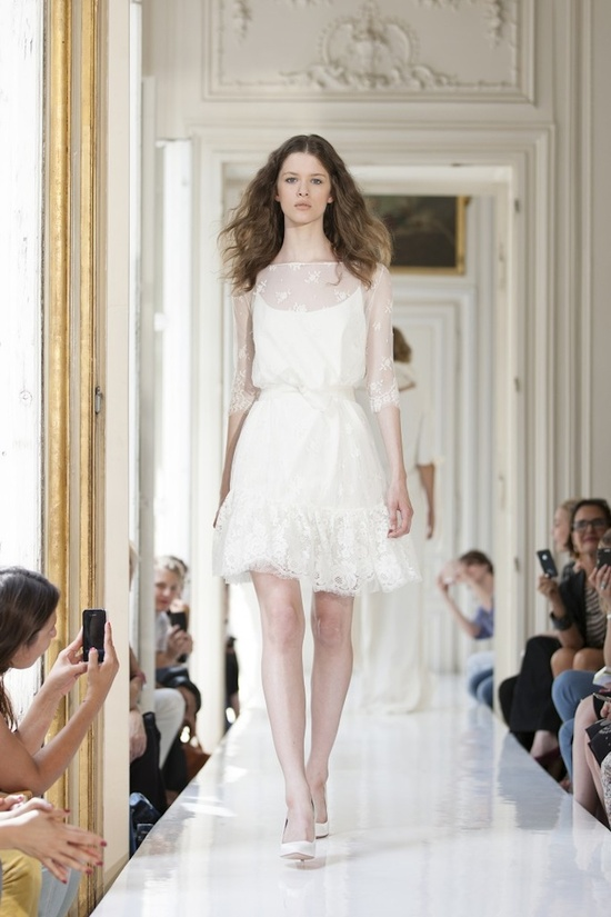 2013 Wedding Dress by Delphine Manivet French Bridal Lilian