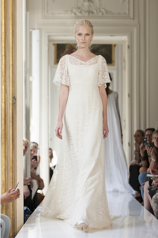 2013 Wedding Dress by Delphine Manivet French Bridal Nestor