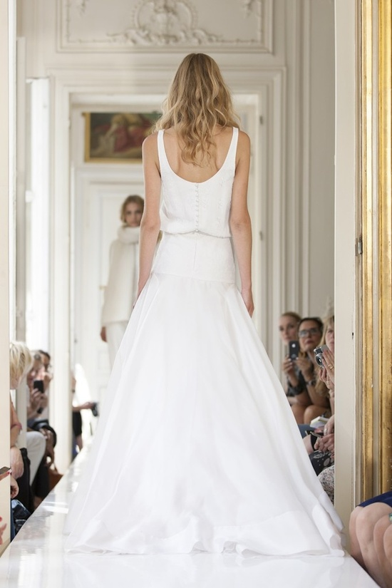 2013 Wedding Dress by Delphine Manivet French Bridal Lubin