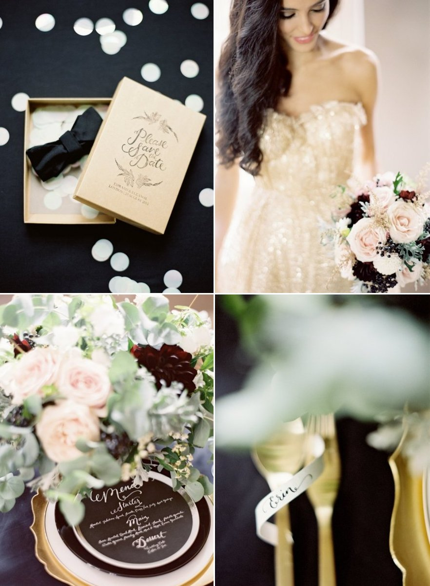 Black-gold-mint-green-wedding-colors.full