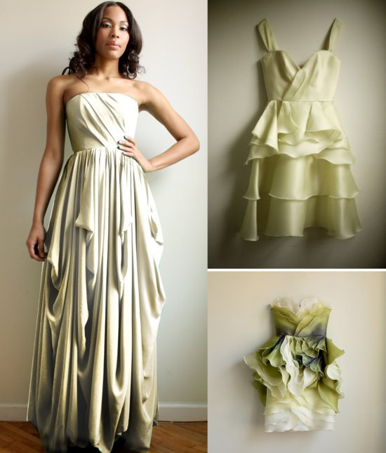 2013 bridesmaid dress trends mix and match hues