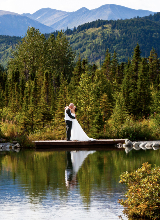 Alaska Wedding Photography Turn Lake Inn