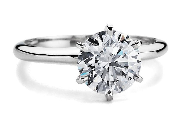 Blue Nile engagement rings Classic Six Prong