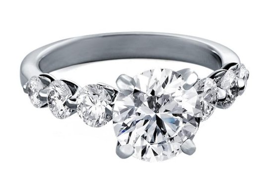 Blue Nile engagement rings Floating Diamond