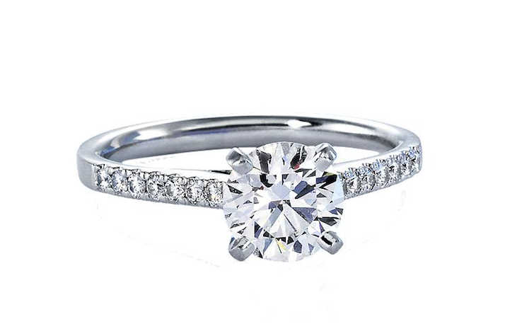 Blue Nile Petite Diamond Engagement Ring Blue Nile Engagement Rings
