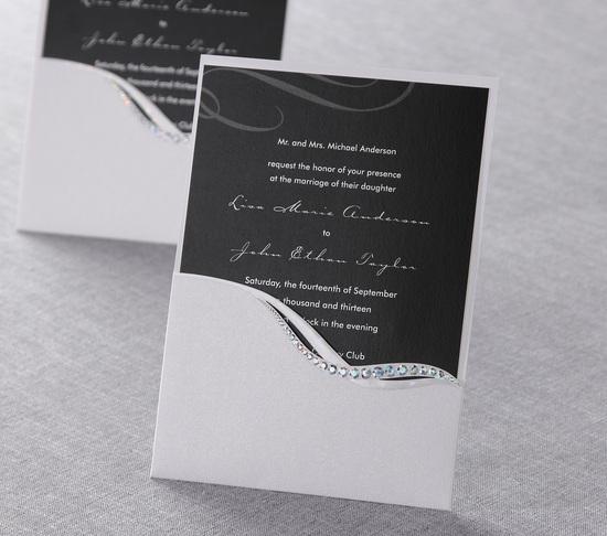 photo of B Wedding Invitations