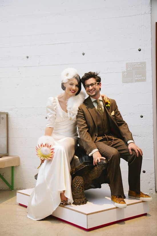photo of Real Wedding Inspiration: Art Deco Glam Goes Into the Wild
