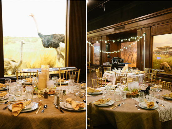 Rustic Art Deco Wedding at Natural History Museum