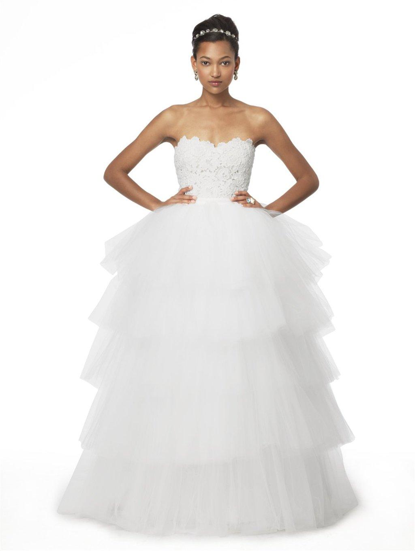 2 in 1 wedding dresses for 2013 oscar de la renta for Wedding dresses 2 in 1