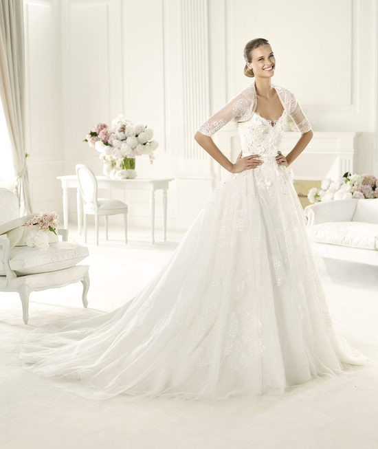 Elie Saab 2013 Wedding Dress for Pronovias Dione