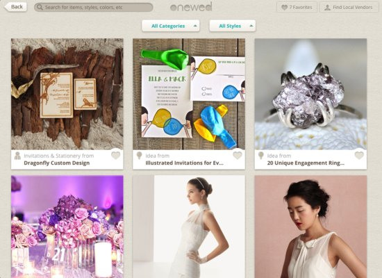 The Best Wedding Inspiration App for iPad