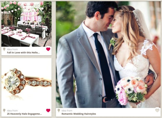 OneWed for iPad Wedding Inspiration