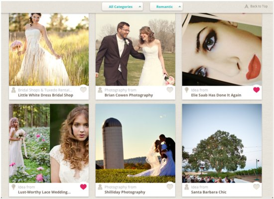 iPad App for Brides