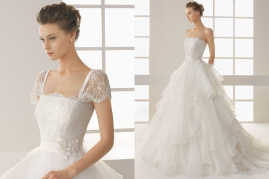 Two by Rosa Clara 2013 Wedding Dress Dahesa
