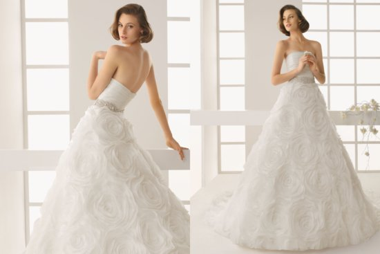 Two by Rosa Clara 2013 Wedding Dress Dorado