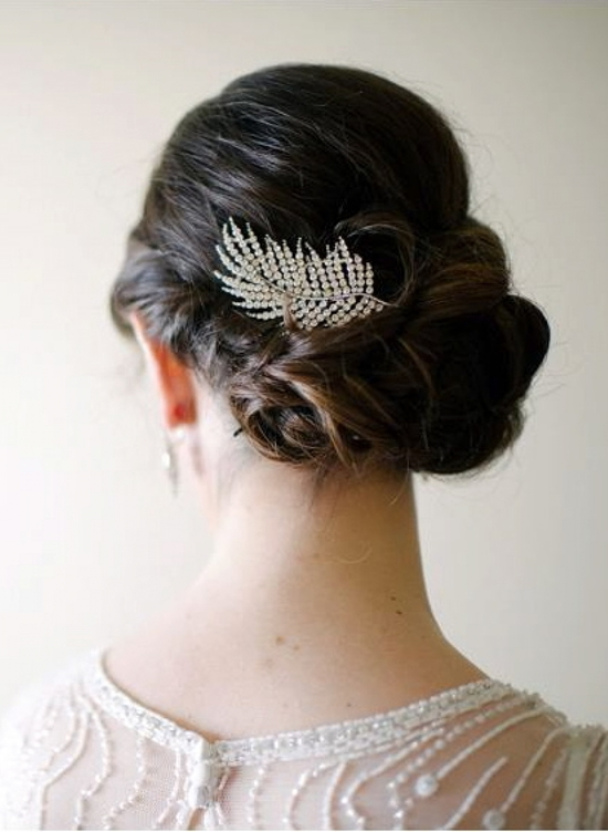 Art Deco Bridal Hair Comb