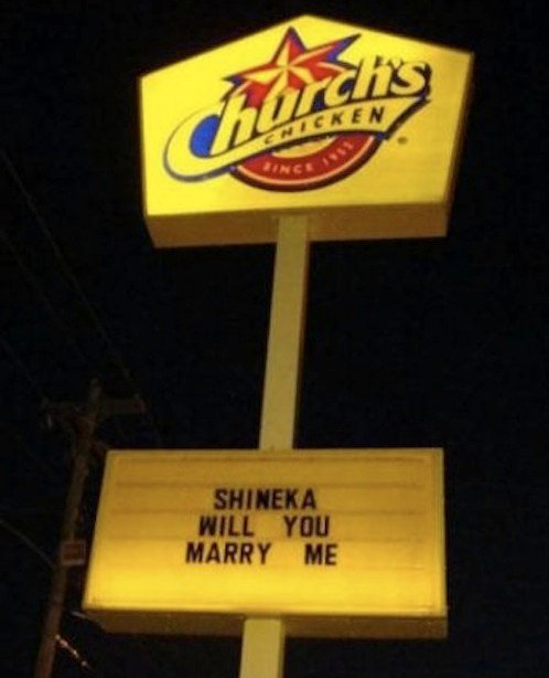 Bad Ways to Propose Fast Food Engagement