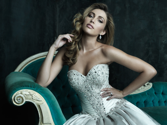 2013 Wedding Dress Allure Couture Bridals C240H