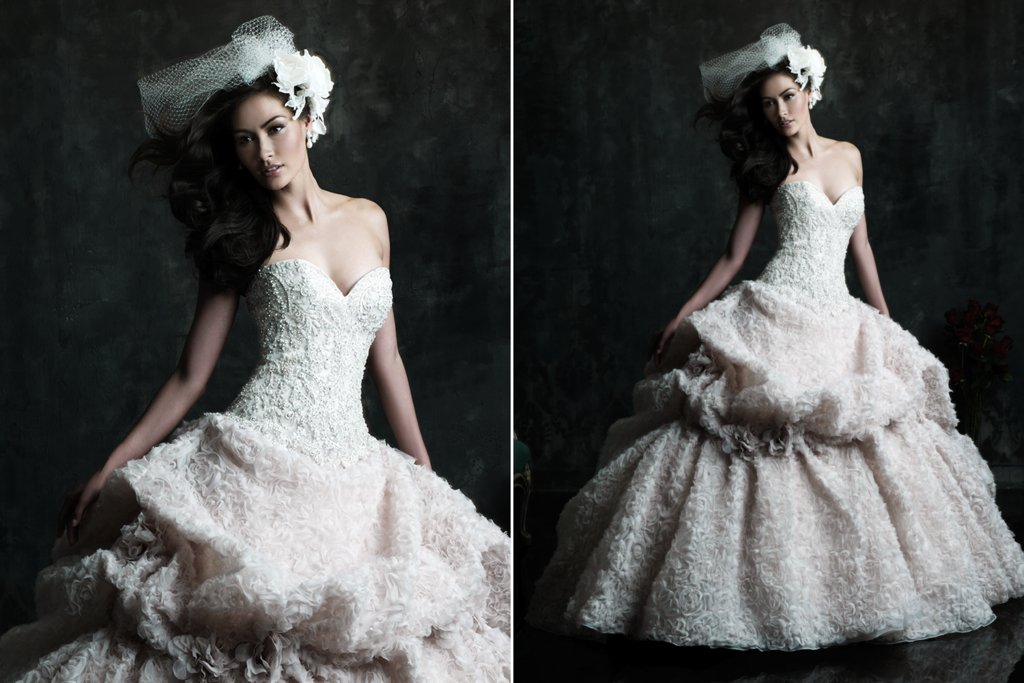 2013 Wedding Dress by Allure Couture Bridals C242