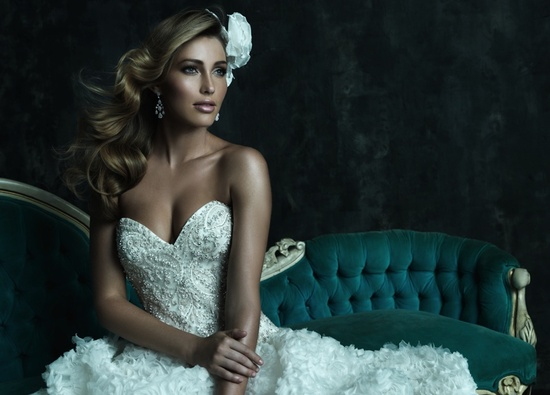 2013 Wedding Dress by Allure Couture Bridal C242H