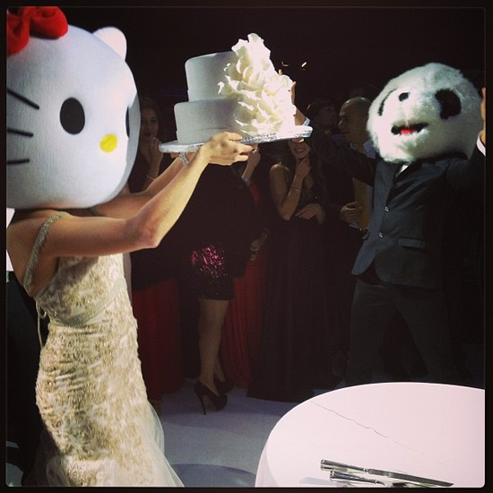 Awesome Wedding Instagrams Hello Kitty Bride