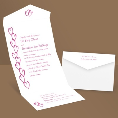 Chain of Hearts Seal and Send Invitation