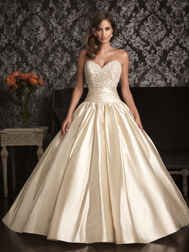 photo of More Gorgeous Sweetheart Gowns from Allure Bridals