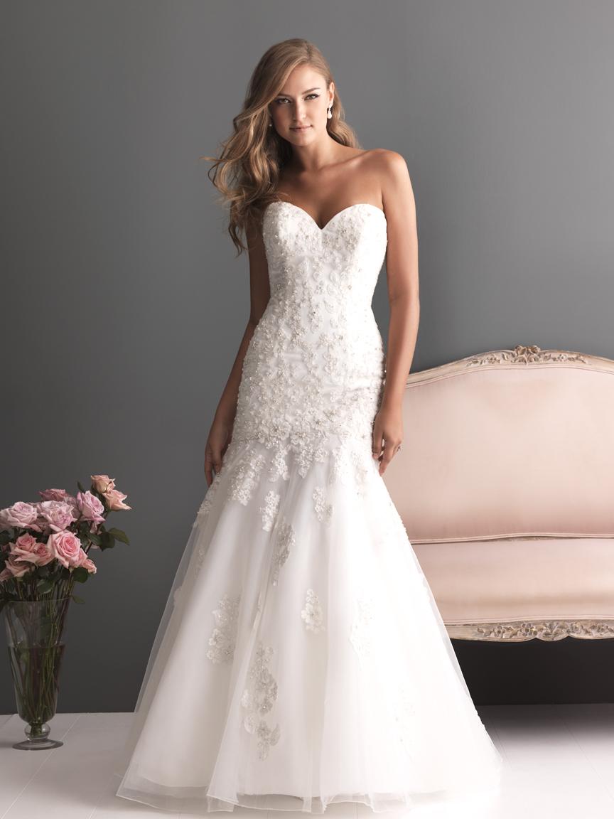 Allure Bridals Wedding Dress Bridal Gown Romance Collection ...
