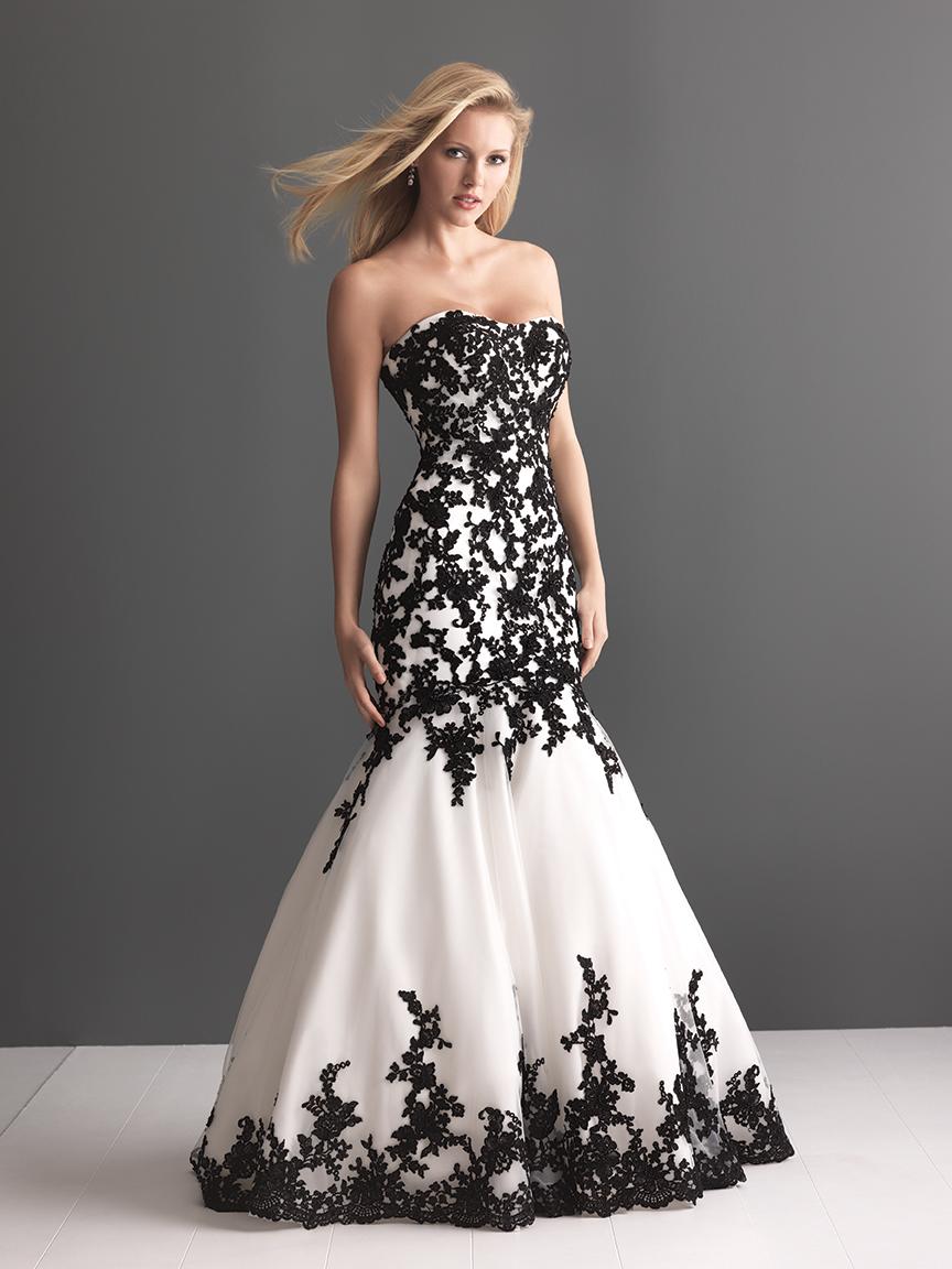 Allure bridals wedding dress bridal gown romance for Allure romance wedding dress