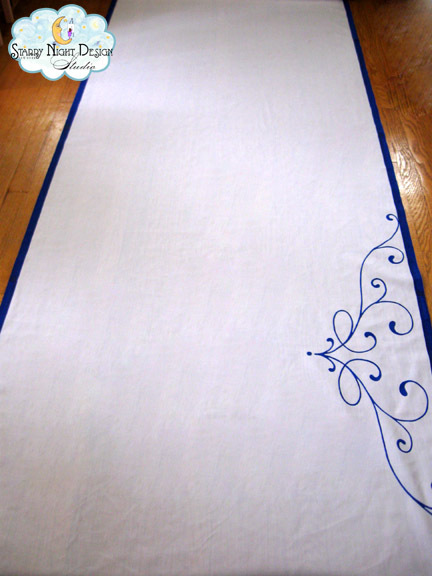 aisle runner, aisle runners, custom aisle runners, personalized aisle runners