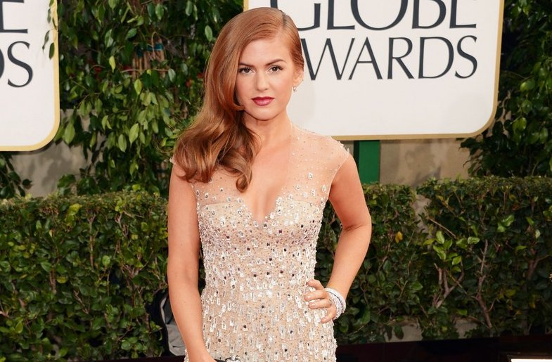 Isla Fisher Wedding Hair Inspiration All Down