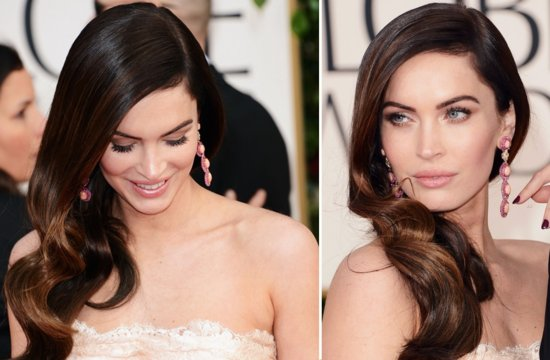 Megan Fox Wedding Hair Inspiration