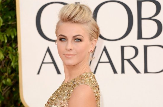 Juliane Hough Rockin Bridal Updo 2013 Golden Globes