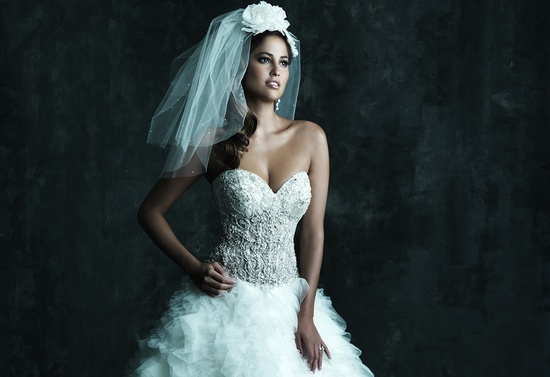 2013 Wedding Dress by Allure Couture Bridals C248