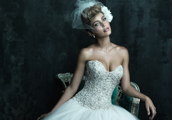 Allure Couture 2013 Wedding Dress C244 c