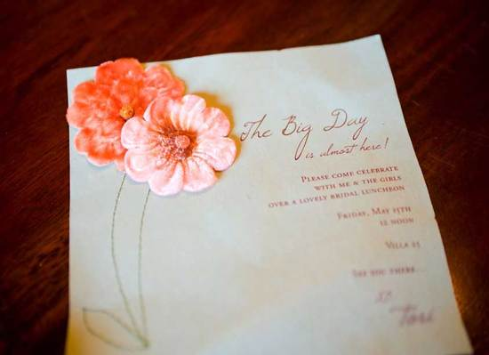 Embellished Wedding Invitations