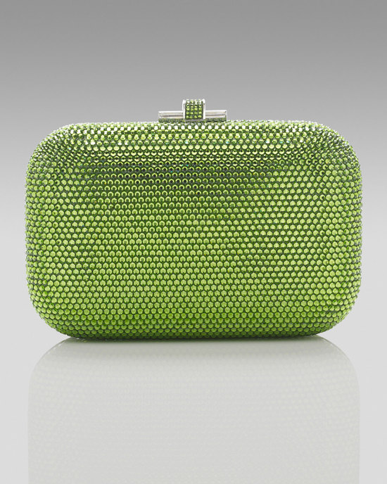 Green Apple Crystal Bridal Clutch