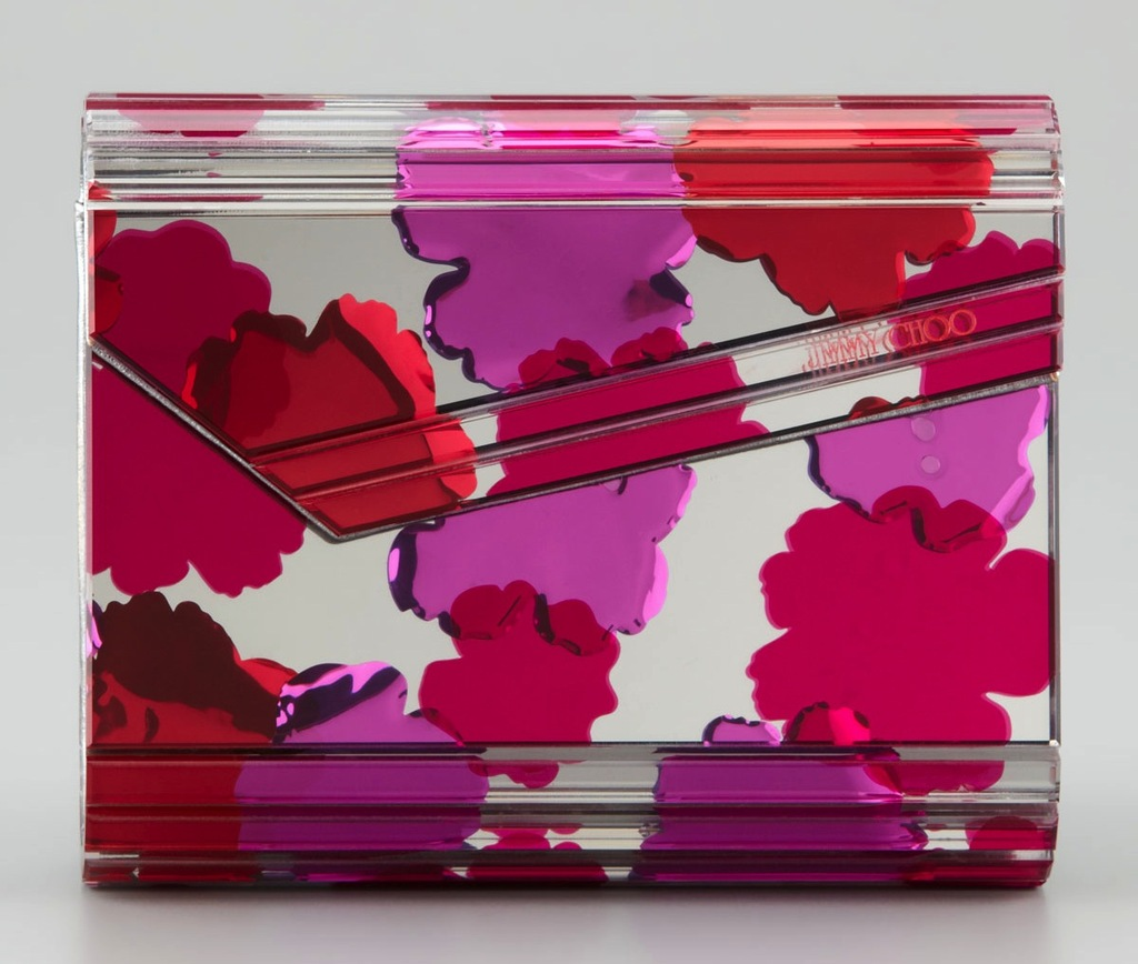 Jimmy-choo-bridal-clutch-clear-with-red-pink-flowers.full