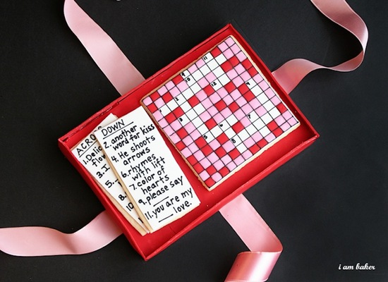 Valentines Day Crossword DIY