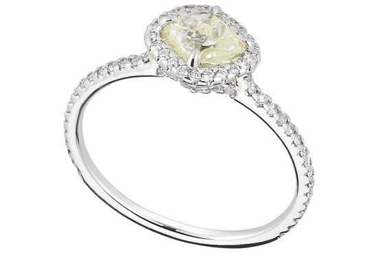 Rough Diamond Engagement Ring 2D994 0 91 B