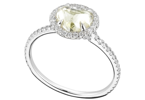 Unique Engagement Ring Diamond In The Rough 3D565 1 70 B