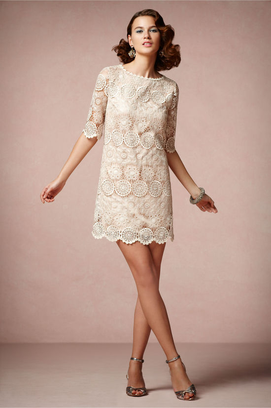 Lace Crochet LWD for Brides