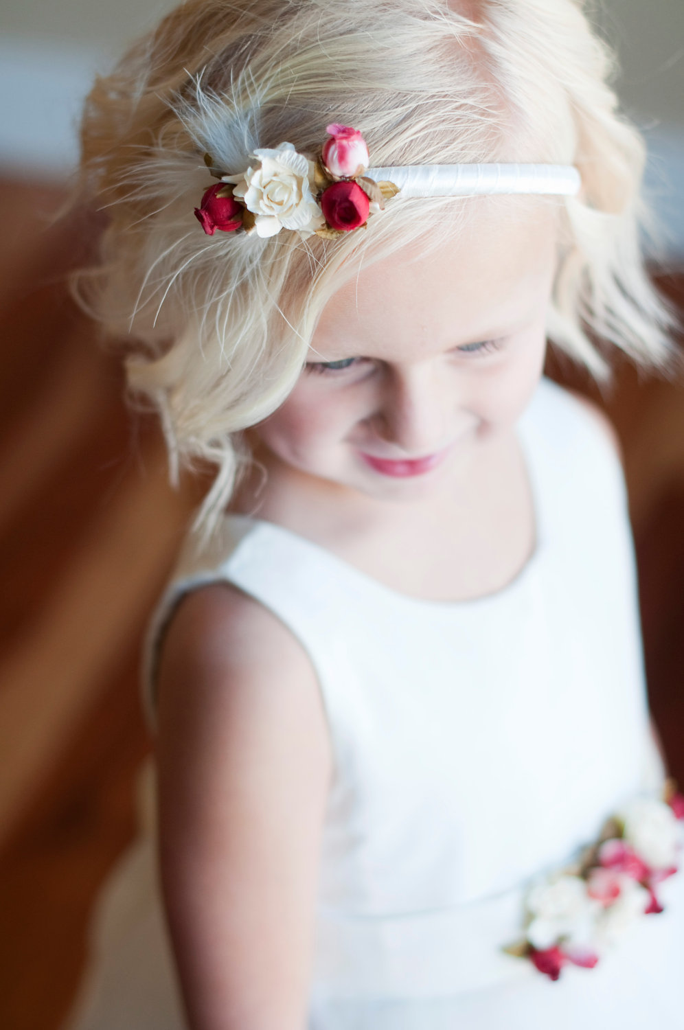 Great Gatsby Inspired Flower Girl Crown