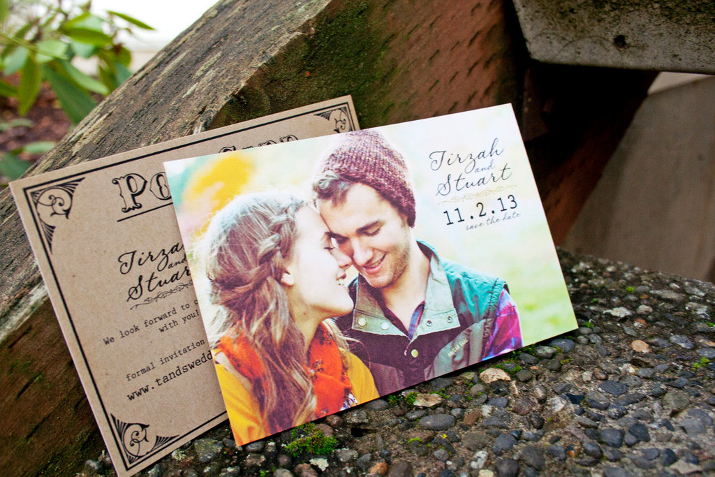 Wedding Post Card Save the Date