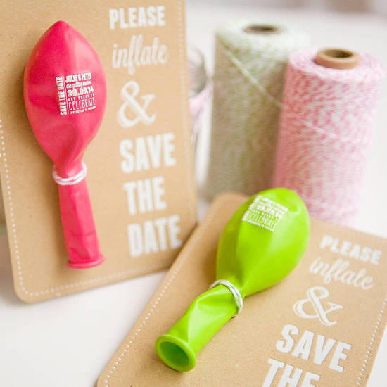 photo of 30 of the Best Wedding Save the Dates Around!
